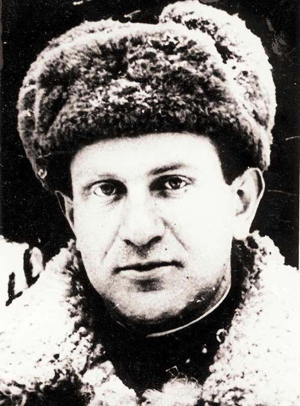 Айзикович Г.Ю. - пулемётчик 35 осбр