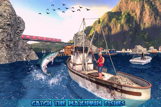 Fishing Ship Simulator 2020 : Fish Boat Game painmod.com screenshots 12