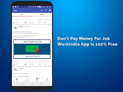 Job Search App – Free Direct HR Contact: WorkIndia 5