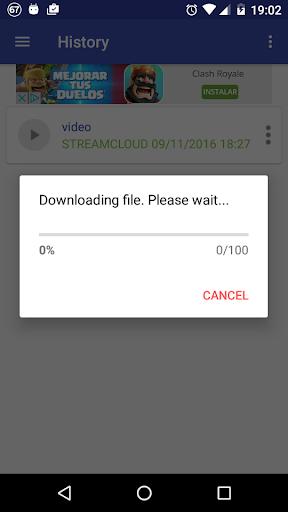 StreamCloud Streaming Download 4.3.0 screenshots 5