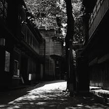 Photo: .   「ただの細道」   zenith80 on ilford   #japan  #kanazawa  #blackandwhitephotography  #mediumformatphotography  #analogphotography  #filmphotography  #ilford  #russiancamera  #白黒写真部  #cooljapan
