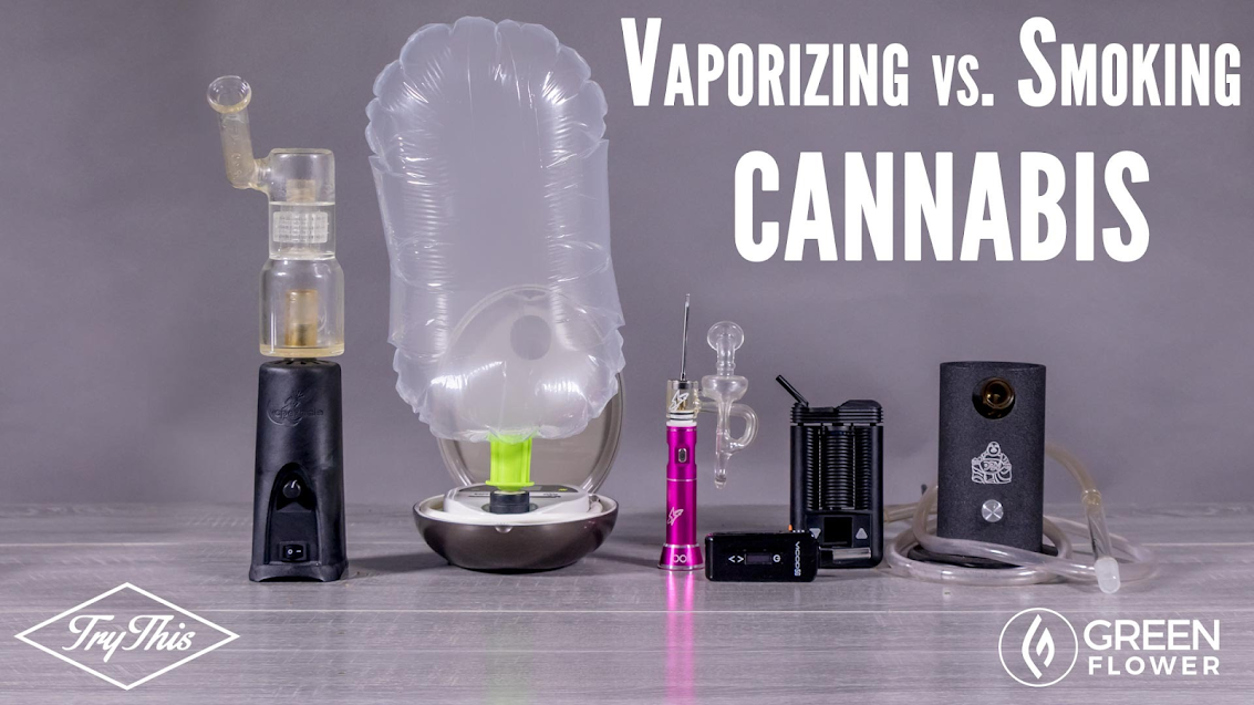 Vaporizing vs. Smoking Cannabis