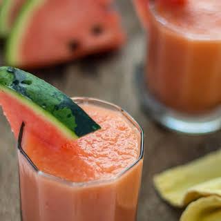 Simple Melon Smoothie.