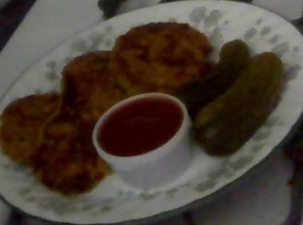 Valentines Day Dinner (salmon Patties)