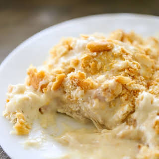 Creamy Ranch Chicken Casserole.