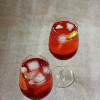 Pomegranate Lemon Ginger Punch.