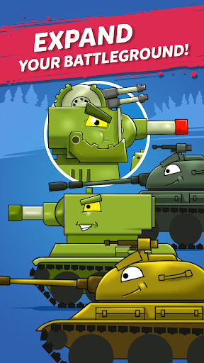 Merge Tanks: Awesome Tank Idle Merger cheat hacks
