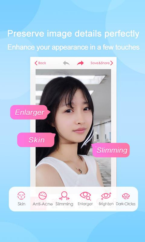 Screenshots of Beauty Camera for iPhone