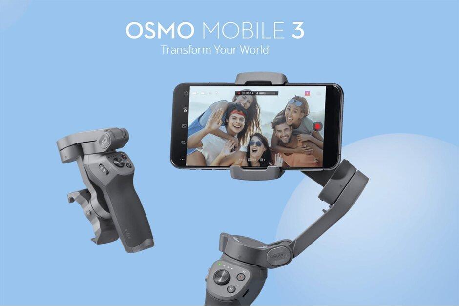 dji osmo mobile 3 gimbal for iphone