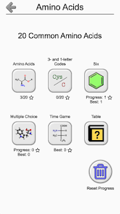 Amino acids structures quiz and flashcards android apps on amino acids structures quiz and flashcards screenshot thumbnail thecheapjerseys Gallery
