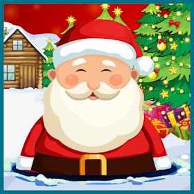 разбить Санта
