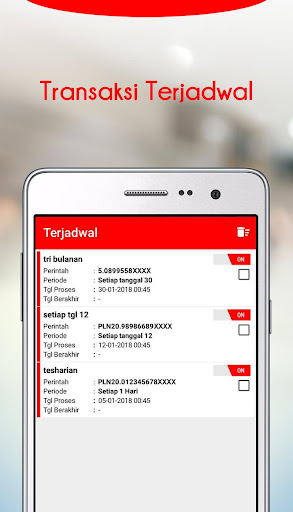 Unitedtronik-Isi Pulsa Online 3.0.4 screenshots 6