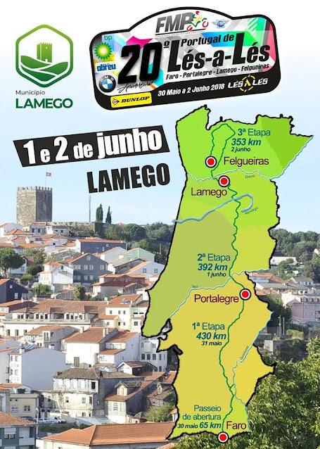 Lamego recebe na sexta-feira caravana do Portugal de Lés-a-Lés