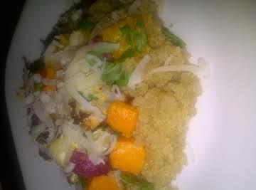 Roasted Root Veggies Quinoa