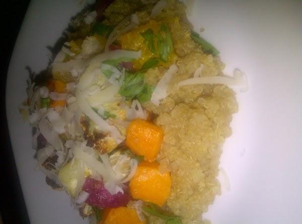 Roasted Root Veggies Quinoa Recipe