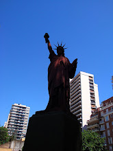 Photo: Statue of liberty in Barrancas de  Belgrano park