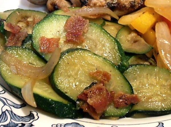 Zucchini Saute Just The Way We Like It By Freda Recipe