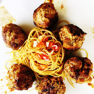 """Pump Up the Bacon Jam"" Meatballs"