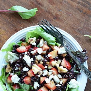 Strawberry Black Bean Salad