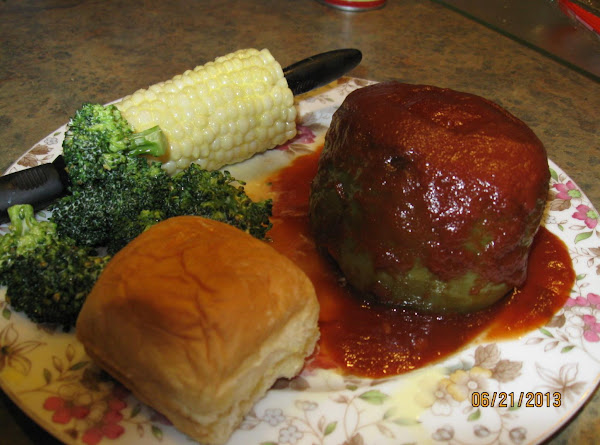 Easy Peasy Stuffed Green Peppers Recipe