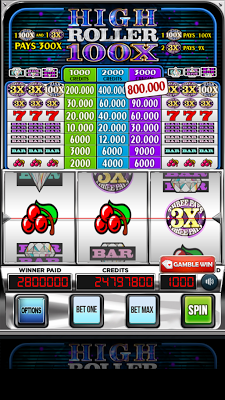 Triple 100x High Roller Slots - screenshot