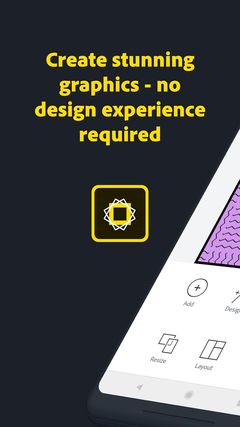 Adobe Spark Post: Graphic design made easy Screenshot 0