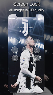 Cristiano Ronaldo Lock Screen Juventus 1.0 Mod Android Updated 2