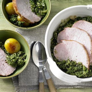 Kale with Smoked Pork