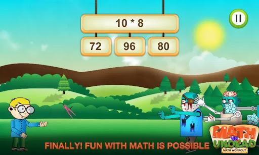 Math vs. Undead: Math Workout apkmr screenshots 10