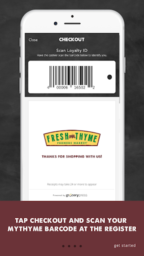 Fresh Thyme Farmers Market Screenshot