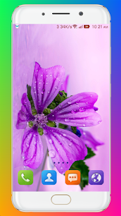 Download Purple Flower Wallpaper For PC Windows and Mac apk screenshot 12