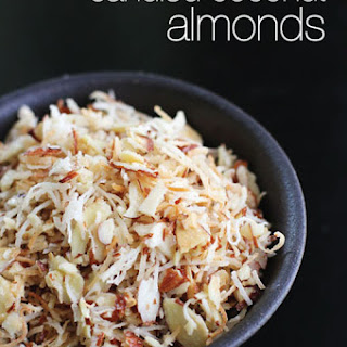 Candied Coconut Almonds.