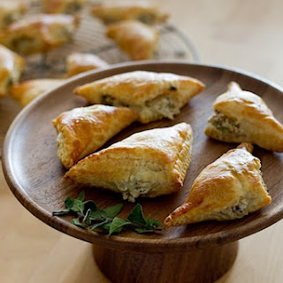 Olive and Goat Cheese Turnovers