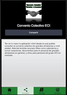 Convenio Colectivo ECI - náhled