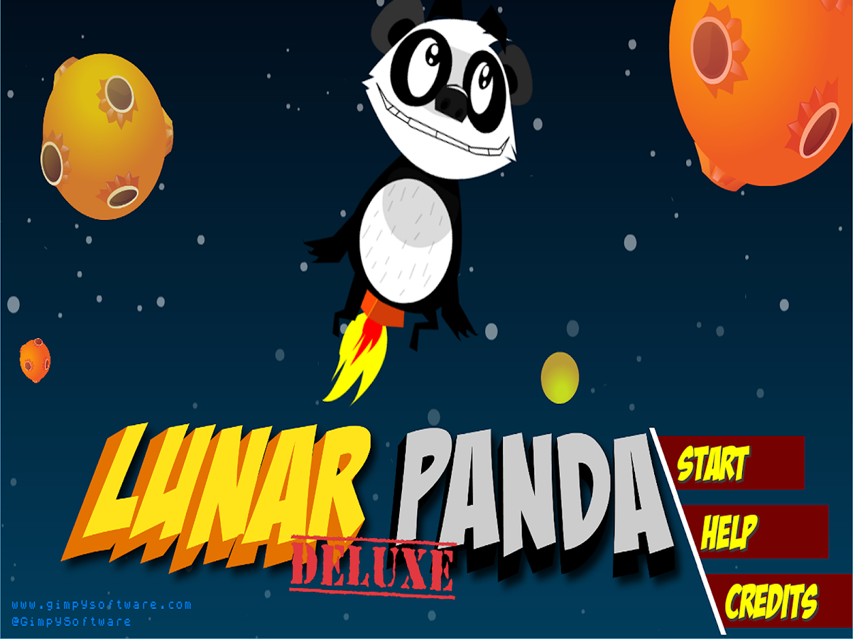 Lunar Panda Deluxe- screenshot