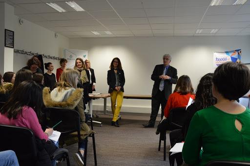 Demi-journée de sensibilisation avec la venue deWilliam Marois, Recteur de l'académie de nantes à la pépinière d'entreprises à Saint-étienne de Montluc