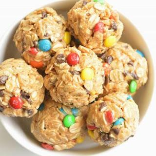 No Bake Monster Cookie Energy Bites Recipe