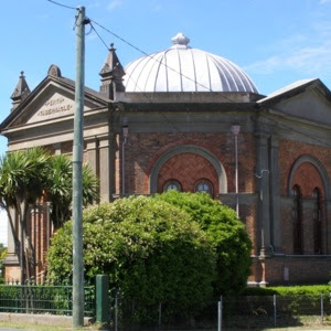 Baptist Tabernacle church in Clarence Street, Perth, Tasmania.