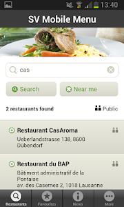 Mobile Menu screenshot 0