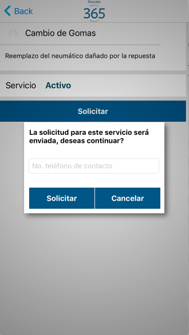 Rescate 365- screenshot