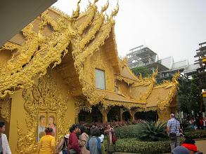 Photo: The golden bathrooms
