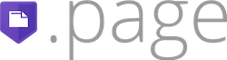 .page logo