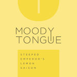 Moody Tongue Steeped Emperor's Lemon Saison