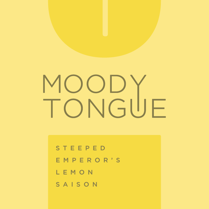Logo of Moody Tongue Steeped Emperor's Lemon Saison