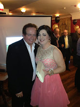 Photo: Sheena Faughnan and her number 1 fan Marty Morrissey, Dinner Dance 2013