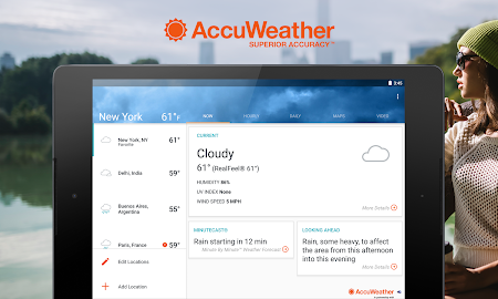 AccuWeather Platinum Screenshot 6