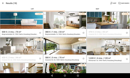 Immobilien Scout24- screenshot thumbnail