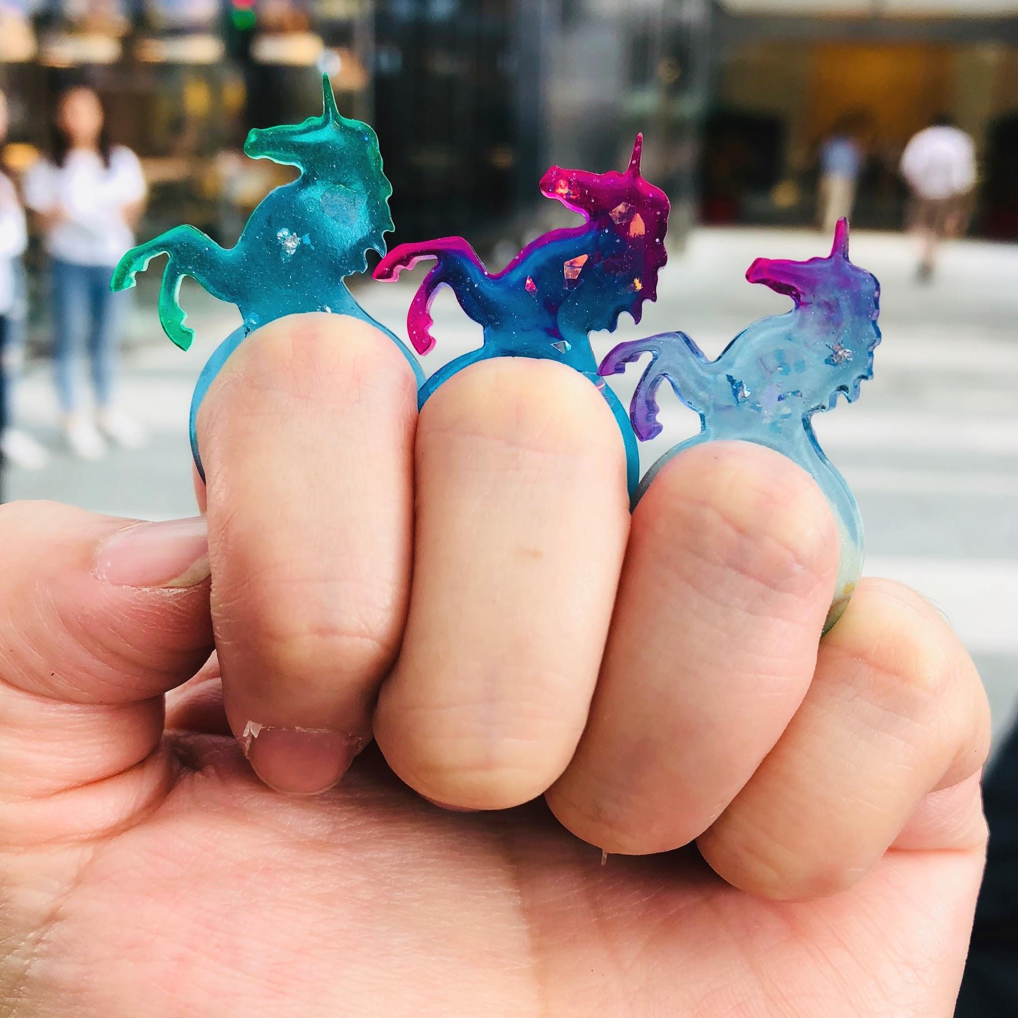 Make your own Magical Unicorn Jewellery using UV Resin