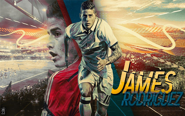 james rodriguez Themes & New Tab