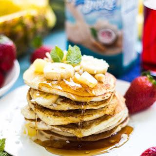 Fluffy Hawaiian Style Pancakes